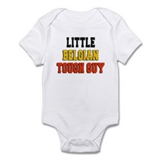 Little Belgian Tough Guy Infant Bodysuit