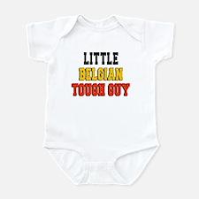 Little Belgian Tough Guy Infant Bodysuit