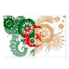 Algeria Flag Postcards (Package of 8)