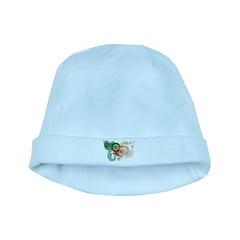 Algeria Flag baby hat