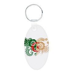 Algeria Flag Keychains