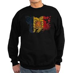 Andorra Flag Sweatshirt (dark)