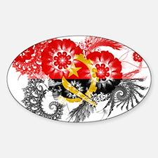 Angola Flag Decal