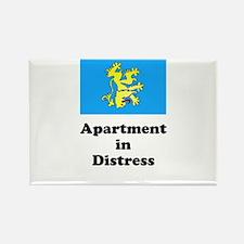 Apartment Flag Rectangle Magnet