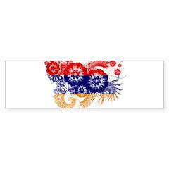 Armenia Flag Bumper Sticker