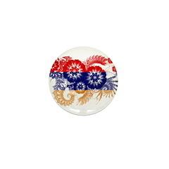 Armenia Flag Mini Button (10 pack)