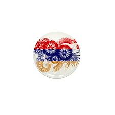 Armenia Flag Mini Button