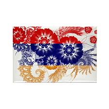 Armenia Flag Rectangle Magnet