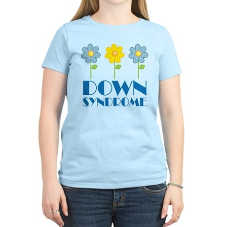 Down Syndrome Daisies Women's Light T-Shirt