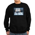 Anchorage AK Record Snow Sweatshirt (dark)