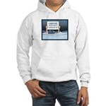 Anchorage AK Record Snow Hooded Sweatshirt