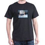 Anchorage AK Record Snow Dark T-Shirt