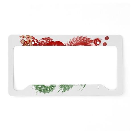 Belarus Flag License Plate Holder