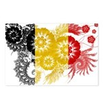 Belgium Flag Postcards (Package of 8)