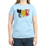 Belgium Flag Women's Light T-Shirt