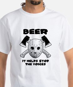 Beer Helps Stop The Voices Shirt