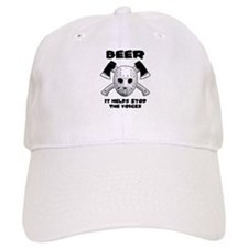 Beer Helps Stop The Voices Baseball Cap