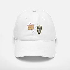 Cake or Death Baseball Baseball Cap