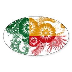 Benin Flag Decal