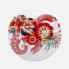 Bermuda Flag Ornament (Round)