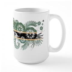 Botswana Flag Large Mug