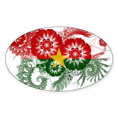 Burkina Faso Flag Decal