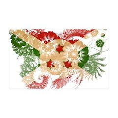 Burundi Flag 38.5 x 24.5 Wall Peel