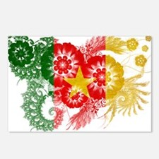 Cameroon Flag Postcards (Package of 8)