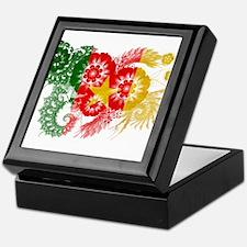 Cameroon Flag Keepsake Box