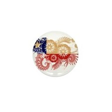 Chile Flag Mini Button
