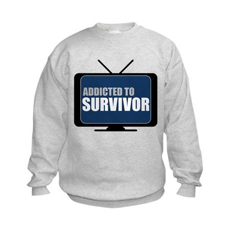 Addicted to Survivor Kids Sweatshirt