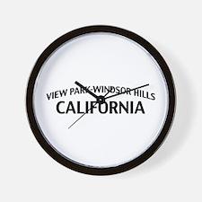 View Park-Windsor Hills California Wall Clock