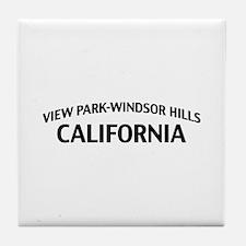 View Park-Windsor Hills California Tile Coaster
