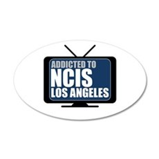 Addicted to NCIS: Los Angeles 22x14 Oval Wall Peel
