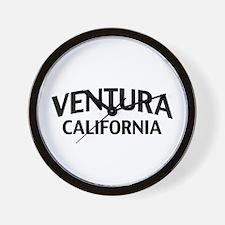 Ventura California Wall Clock