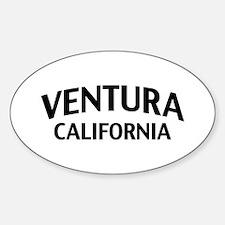 Ventura California Sticker (Oval)