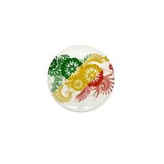 Congo Republic Flag Mini Button