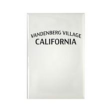 Vandenberg Village California Rectangle Magnet