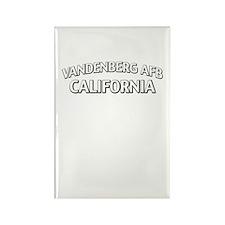 Vandenberg AFB California Rectangle Magnet