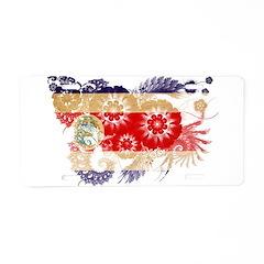 Costa Rica Flag Aluminum License Plate