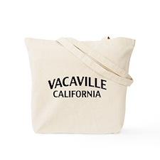Vacaville California Tote Bag