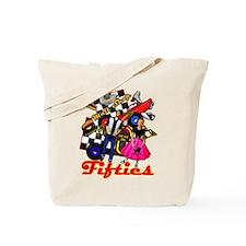 Fifties Memories Retro Tote Bag