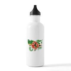 Dominica Flag Water Bottle