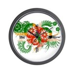 Dominica Flag Wall Clock