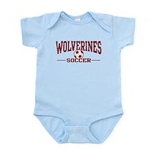 Wolverines Soccer Infant Bodysuit