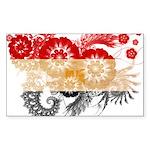 Egypt Flag Sticker (Rectangle 50 pk)