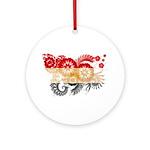 Egypt Flag Ornament (Round)