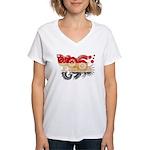 Egypt Flag Women's V-Neck T-Shirt
