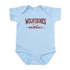 Wolverines Baseball Infant Bodysuit
