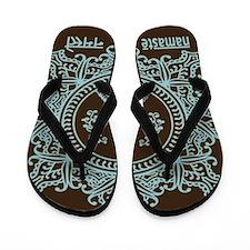 Namaste Flip Flops (Dark)